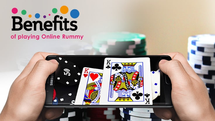 Benefits of playing online rummy