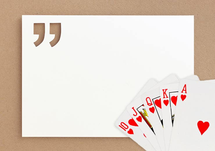 Inspiring Playing Card Quotes To Help You Play Better