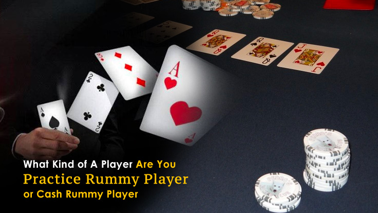 Practice Rummy Player Or Cash Rummy Player