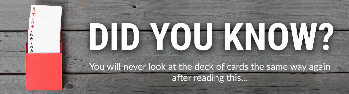 You will never look at the deck of cards the same way again after reading