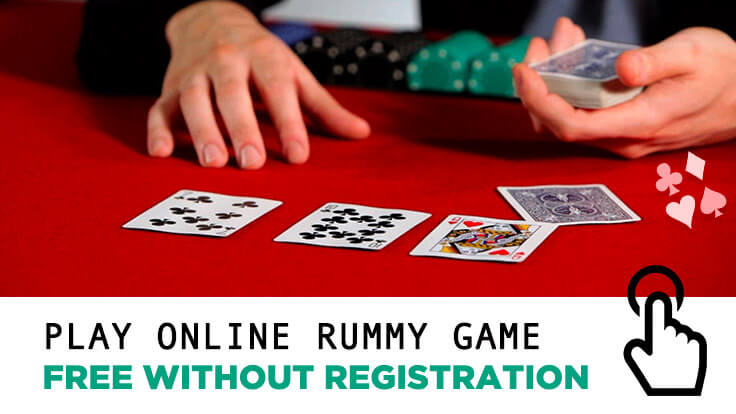 Play Online Rummy Game Free without Registration
