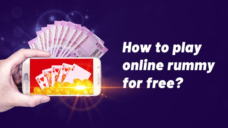 How to play online Rummy for free?
