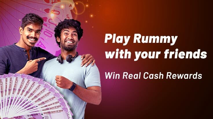 How to win real cash by playing Rummy with your circle of friends?