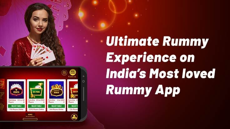 Most loved & downloaded app for ultimate rummy experience!