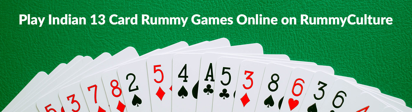 Play Indian 13 Card Rummy Games Online on RummyCulture