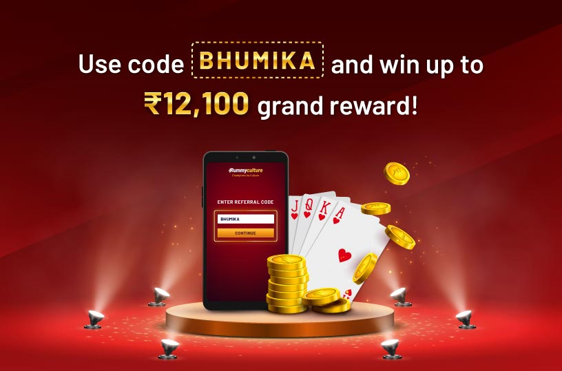 Bhumika celebrates rummy with RummyCulture