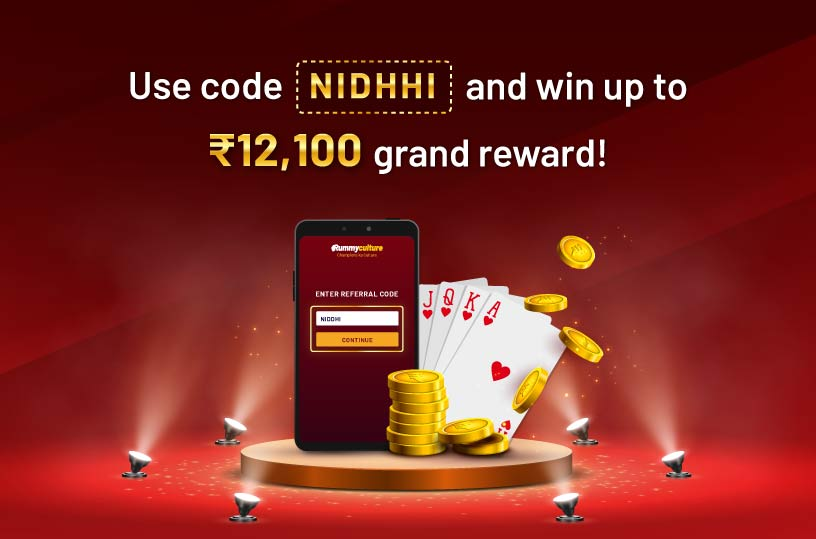 Nidhhi celebrates rummy with RummyCulture