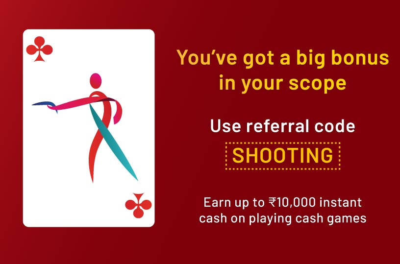 Use Referral SHOOTING to get exclusive offers for Olympics