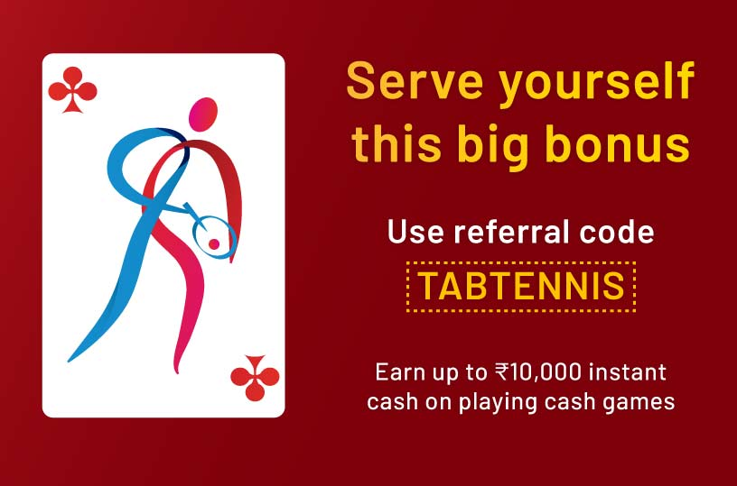 Use Referral TABTENNIS to get exclusive offers for Olympics
