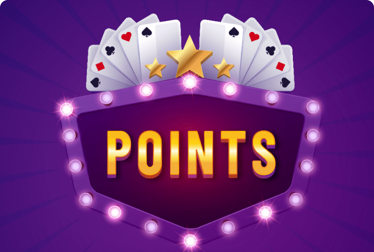 Rummy points banner