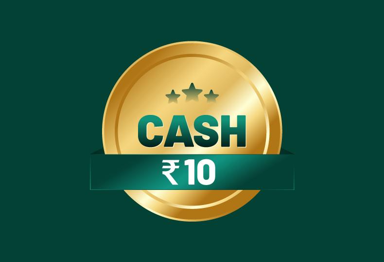 10 Rupee Online Cash Rummy Tournament