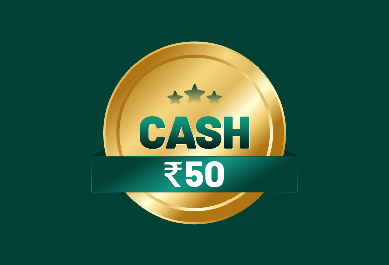 50 Rupee Online Cash Rummy Tournament