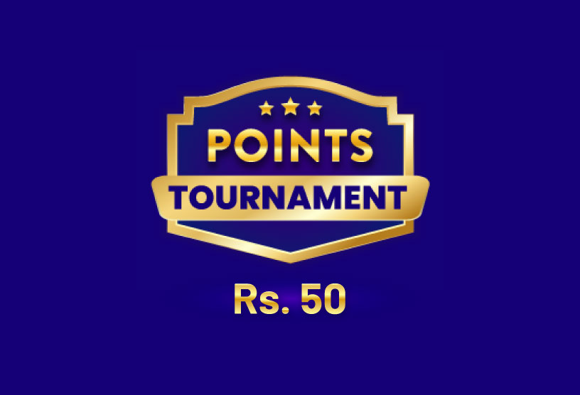 Points Tournament for Rs 50