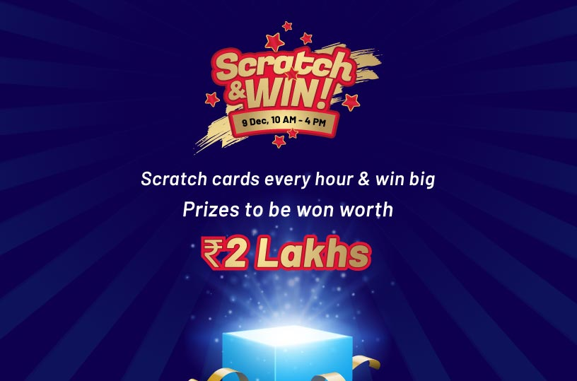 Scratch and win offer