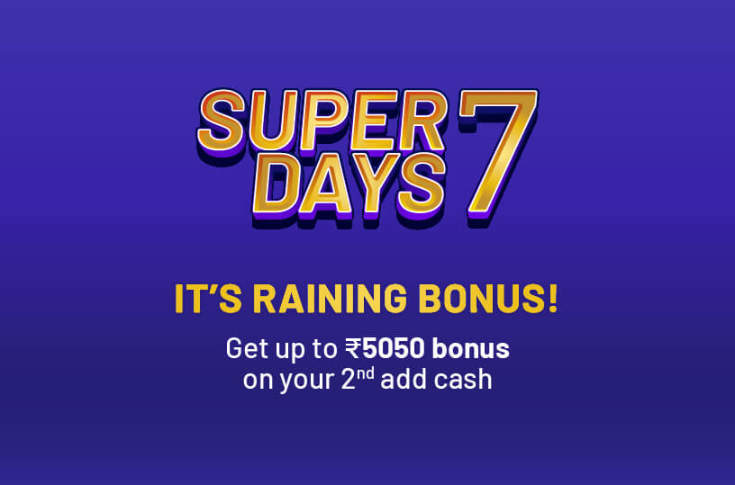 Super 7 Second Add Cash Offer