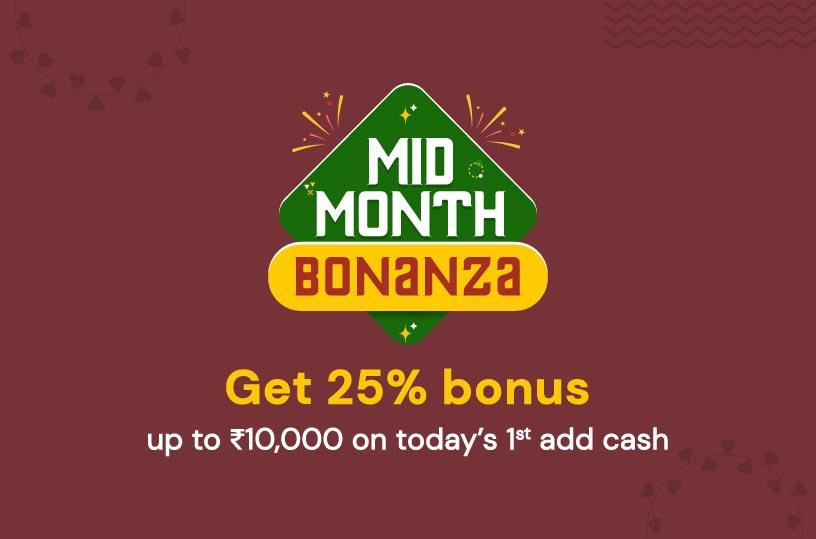 Mid Month Booster Bonus
