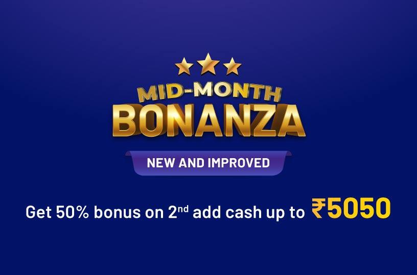 Booster Bonus Delight: Bonus up to₹2375 + Free ₹150 Instant Cash