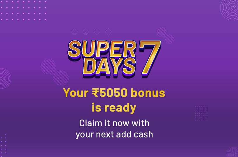 Super 7 Booster Bonus