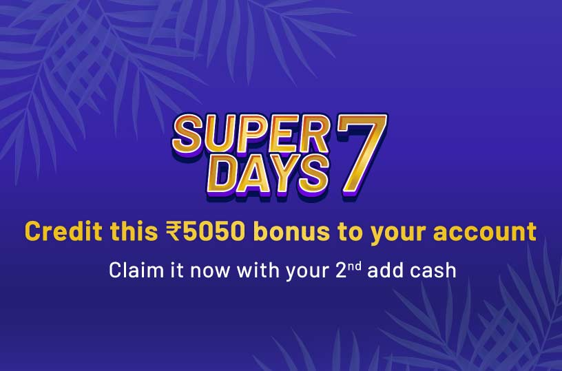 Super 7 Second Add Cash