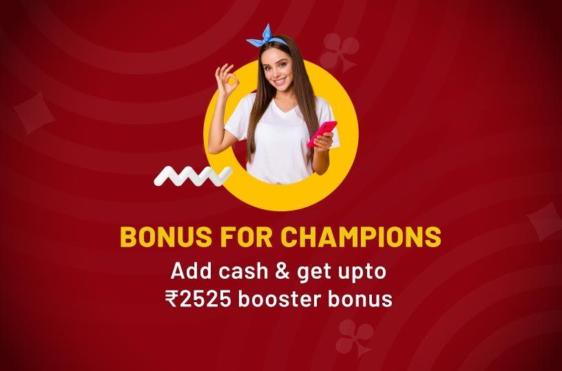 Booster Bonus Delight: Bonus up to ₹10,000