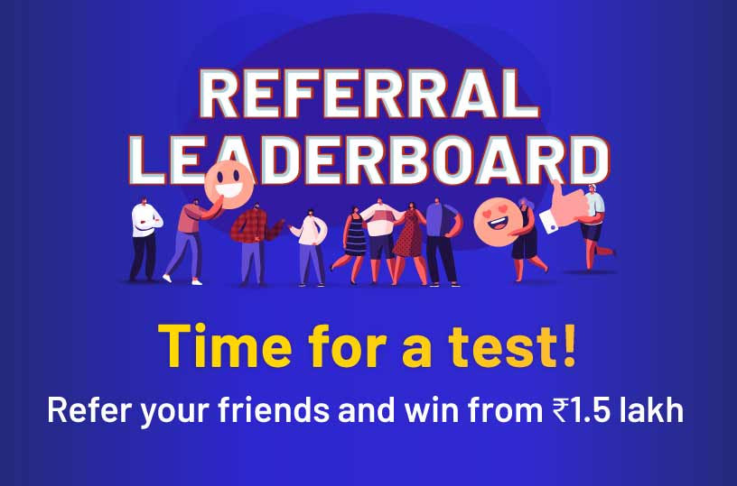 Referral Leaderboard Offer for rummy players