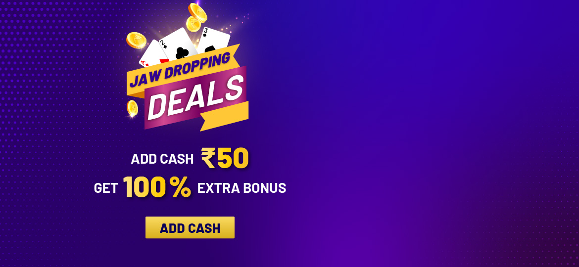 Avail 100% Free Welcome Cash Bonus! Offer expires on 27th November.