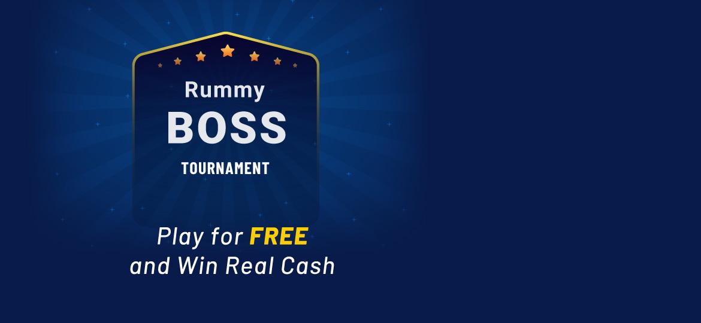 Rummy Boss Online Tournament